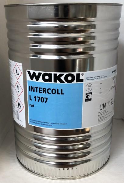 Klebstoff - Wakol Intercoll L 1707 - rot - 9 KG