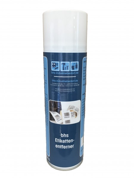 bhs Etikettenentferner - farblos - 500 ml