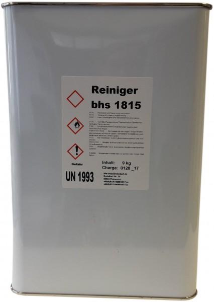 Reiniger - bhs 1815 - farblos - 9 KG