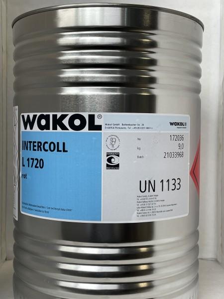 Klebstoff - Wakol Intercoll L 1720 - rot - 9 KG