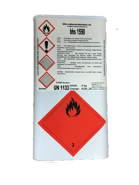 Klebstoff - bhs 1590 - farblos - 4 KG