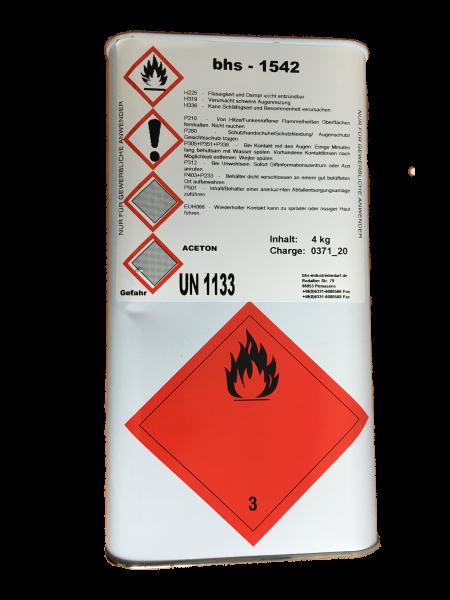 Klebstoff - bhs 1542 - farblos - 4 KG