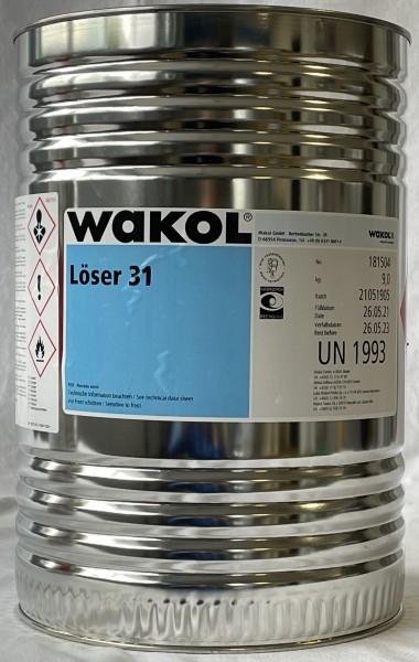 Reiniger - Wakol Löser 31 - farblos - 9 KG