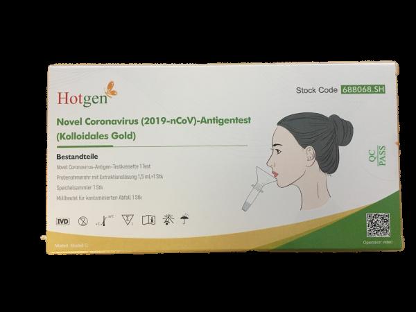 Hotgen Antigentest Covid-19-Schnelltest - Speicheltest - 1 Set