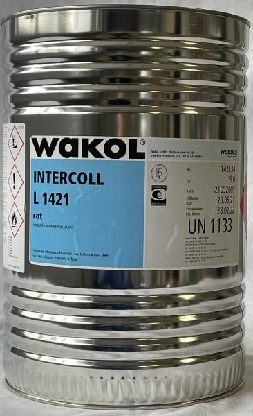 Klebstoff - Wakol Intercoll L 1421 - rot - 9 KG