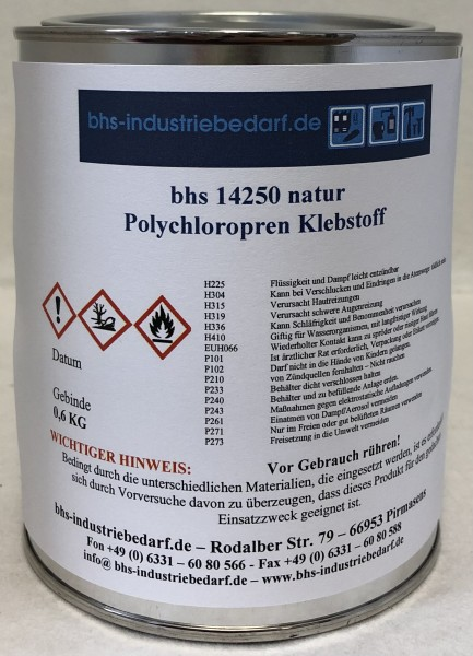 Klebstoff - bhs 14250 - natur - 600 g