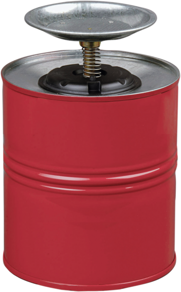 Sparanfeuchter für Reinigungsmittel - rot - 4 L