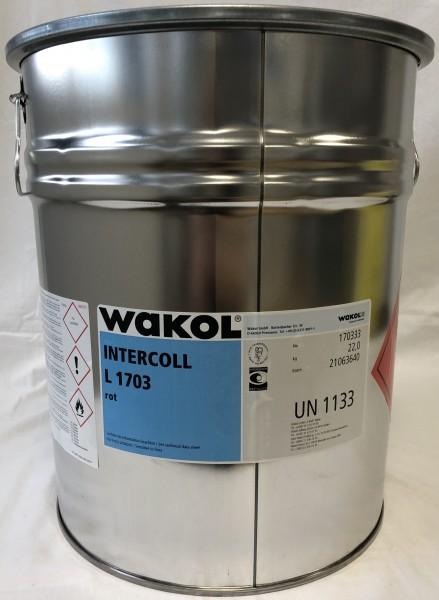 Klebstoff - Wakol Intercoll L 1703 - rot - 22 KG