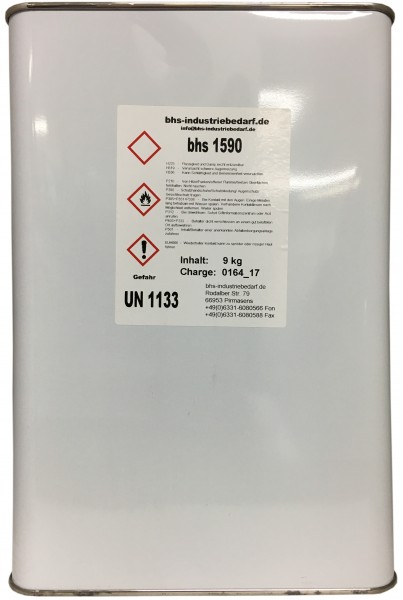 Klebstoff - bhs 1590 - farblos - 9 KG